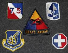 Five New U.S. Military Patches