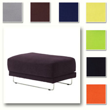 Custom Made Cover Fits IKEA Tylosand Footstool, Replace Ottoman Cover
