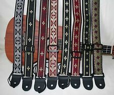 "Ukulele /Mandolin/ Banjolele 1.5""wide Instrument Strap - Majestic Collection"