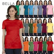 NEW Bella Ladies Favorite Tee Cotton Longer T-Shirt Top Womens Size S-2XL M-6004