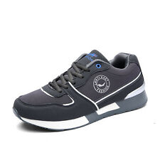 GOMNEAR Mens Spring Big Size Sports Shoes Casual Walking Non Slip Outdoors Shoes