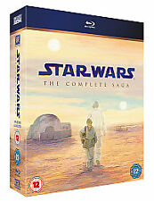 Star Wars - The Complete Saga (Blu-ray, 2011, 9-Disc Set)