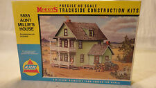 HO SCALE A.H.M. 5885 AUNT MILLIE'S HOUSE MINIKIT TRACKSIDE CONSTRUCTION - SEALED