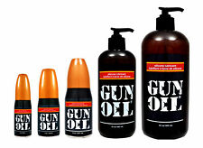 Gun OIl Silicone Based Personal Sex Lubricant Lube - All Sizes