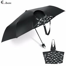 Mini Women Tote Umbrella 360° Rotation Compact Travel Anti-UV Umbrella Windproof