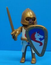 Playmobil medieval series warrior figure mint NEW helmet spade horse shield 131