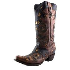 Lucchese Studded Scarlette  Western Boot 5568