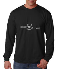 Forever Love & Always Cotton Long Sleeve T-Shirt Tee