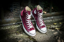 Converse Men's CT All Star Hi Top Maroon Trainers