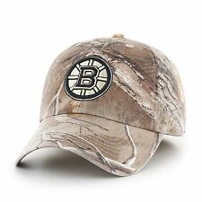 Boston Bruins 47 Brand Realtree Camo Franchise Fitted Hat