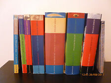J K Rowling HARRY POTTER full set of 7 bks in original covers + extra, 3 1st eds