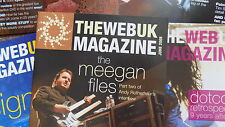 Marillion 'The Web UK Magazin' fan club magazines, A4 format, numerous issues