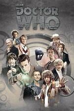 New Doctor Who Time Lords Through Time Dr Who Poster