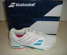 BABOLAT WOMENS PROPULSE TEAM BPM AC TENNIS SHOES - SNEAKERS -31S1501-WHITE/ PINK