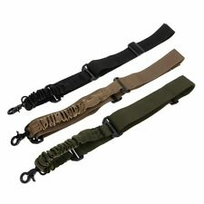 Rifle Sling Bungee Airsoft Tactical Rifle Gun Strap with Single Point Snap Hook
