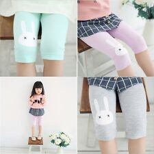 Toddler Kids Girls Baby Cotton Pants Rabbit Stretch Warm Leggings Trousers TSUS