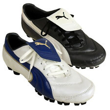 Mens Puma Vencida II GCi FG Leather Football Boots Firm Ground Soccer Boot New