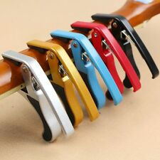 New Muti-color Quick Change Tune Clamp Key Trigger For Acoustic Guitar Capo