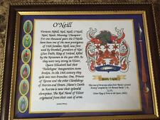 Rees to Ritchie Family Coat of Arms FRAMED - Over 1,000,000 Names available