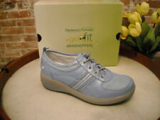 Joy Mangano Chambray Blue Toggle GetFit Tennis Shoes By Grasshoppers New