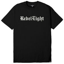 """REBEL8 """"Hell Can't Hold Us"""" S/S Tee (Black) Men's Rebel Eight Old English Shirt"""