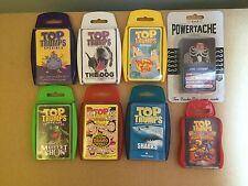 Top Trumps, Ace Trumps, Chad Valley Trumps and other Trump Style Cards