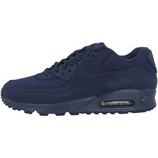 Nike Air Max 90 Essential Shoes Trainers 537384-419 navy Premium Classic Force