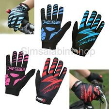 Cycling Gloves Full Finger Shockproof BMX Mountain Bike Bicycle Breathable Mitts