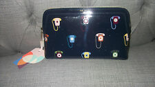 ted baker retro telephones large make up case bag or vanity wash new tagged