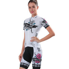 Women's Cycling Bike Short Sleeve Clothing Bicycle Sports Wear Set Jersey Shorts