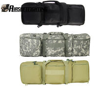 "Tactical Men's Weapons Hunting 33"" Rifle Case AR15 Bag with Shoulder Strap"