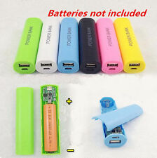 2600mAh For All Phone 18650 Case Kit Box HOT Charger USB Power DIY Battery Bank
