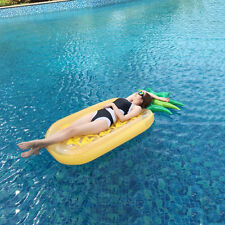 Swimming Pool Giant Inflatable Pineapple Swim Float Toy Summer Beach Water Raft
