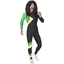Adult Jamaican Bobsleigh Team 90s Bobsled Sport Stag Fancy Dress Costume 21389