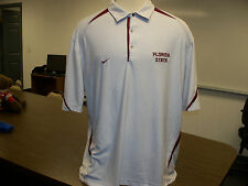 Florida State Seminoles NCAA Nike Adult 2XL Stitched Dry Fit Polo Golf Shirt