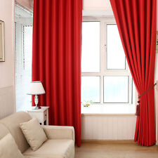 Covering Panel Solid Lined Thermal Blackout Grommet Window Curtain Blinds Drape