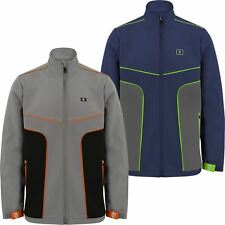 *NEW 2017*  ISLAND GREEN SOFTSHELL FULL ZIP BREATHABLE MENS GOLF THERMAL JACKET
