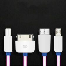 1Pcs New Charger IOS 4in1 Small Size Convenience Android Multifunction Cable USB