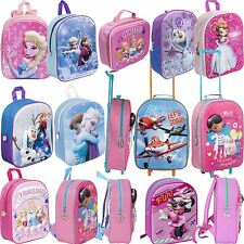Disney 3D EVA Kids Frozen Minnie Princess Backpack Rucksack School Trolley Bag