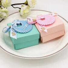 25pcs Chocolate Box Baby Shower Favors Bowknot Candy Box Birthday Party Gift Box
