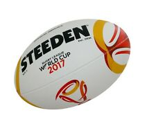 Steeden Rugby League 2017 World Cup Replica Ball Size 5 + Free AUS Delivery!