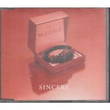 MJ COLE Sincere CD European Talkin Loud 2000 1 Track Radio Edit Promo With Info