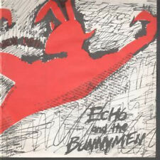 "ECHO AND THE BUNNYMEN Pictures On My Wall 7"" VINYL UK Zoo 1979 Yellow And Dark"