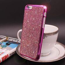 Bling Swarovski Element Crystal Diamond Pink Soft case For iphone 6 6s {PM38