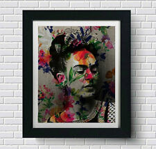 Frida Kahlo Wall Art, Artwork, Poster, Art Print  | Lisa Jaye Art Designs
