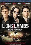 Lions for Lambs (DVD, 2008, Full Frame)