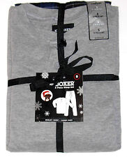 Joe Boxer 2pc Pajama Set, Men's Size Small, Gray w/Navy Plaid, New w/Tag!