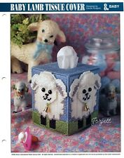 Baby Lamb Tissue Cover, Annie's plastic canvas pattern