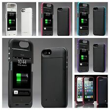 iPhone 5/5S Extended power bank Pack Charger Battery Case/Cover External 2200mAh