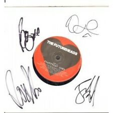 "FUTUREHEADS Heartbeat Song 7"" VINYL UK Nul 2010 B/W Heartbeat Song Fully Signed"